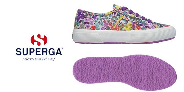 Zapatillas Superga Flowery para mujer chollo en eBay