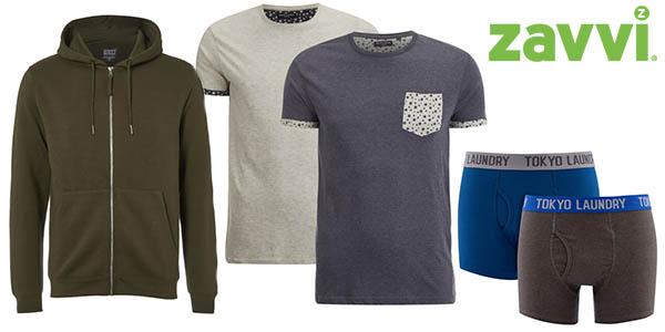 Zavvi promoción ropa casual sudaderas camisetas y bóxers