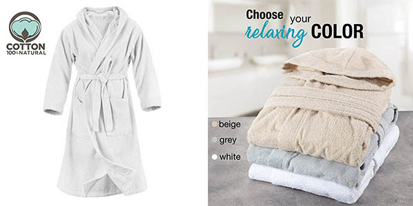 albornoz de baño Twinzen en algodón barato