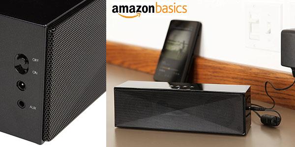 Altavoz portátil AmazonBasics (grande) de 5W con Bluetooth barato