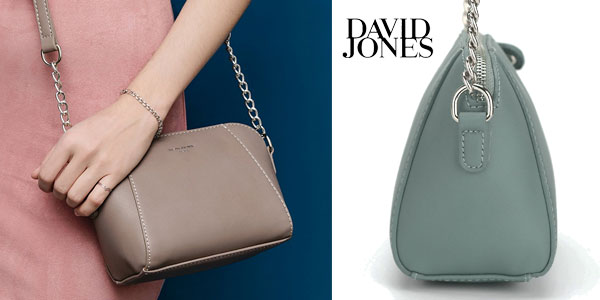 Bolso bandolera compacto de David Jones en 6 colores chollo en Amazon
