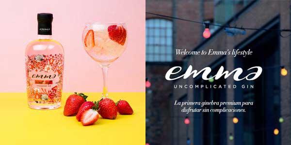 Botella Emma Sweet & Soft Strawberry Ginebra de Fresa de 70 cl chollo en Amazon