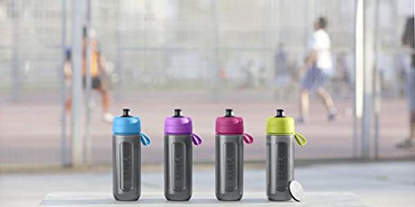botella resistente de plástico con filtro de sabor Brita Fill&Go Active oferta