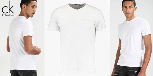 Camiseta Calvin Klein Tipoko Slim de manga corta para hombre barata