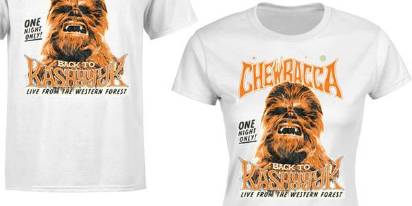 camiseta Chewbacca de manga corta en oferta en Zavvi