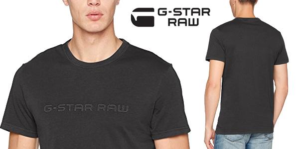 Camiseta G-STAR RAW Alijom Regular R T S/S de manga corta para hombre barata en Amazon