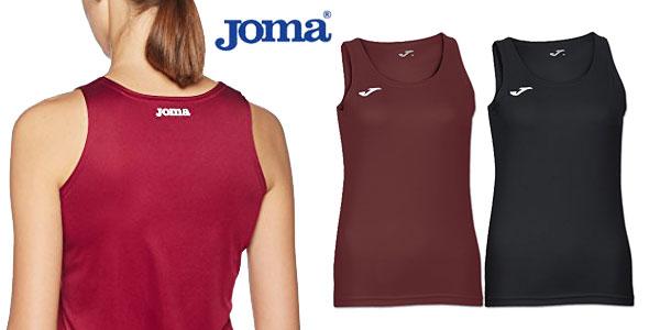 Camiseta Joma Diana de tirantes en varios colores para mujer chollazo en Amazon