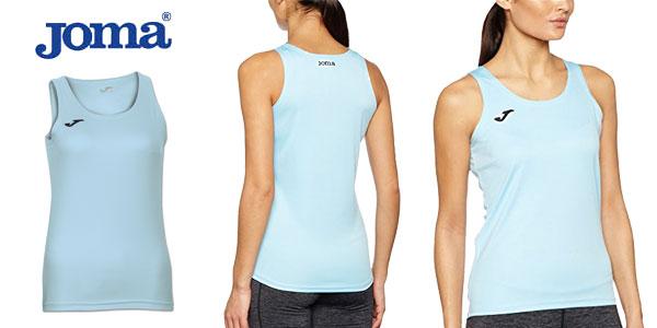 Camiseta Joma Diana de tirantes en varios colores para mujer chollo en Amazon