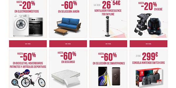 Carrefour Semana Internet ofertas eléctrica informática moda