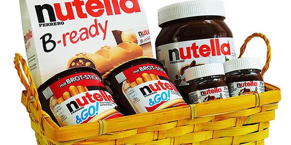 cesta de Pascua Nutella chollo