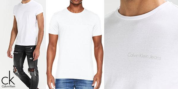 Chollo Camiseta Calvin Klein Tipoko Slim de manga corta para hombre