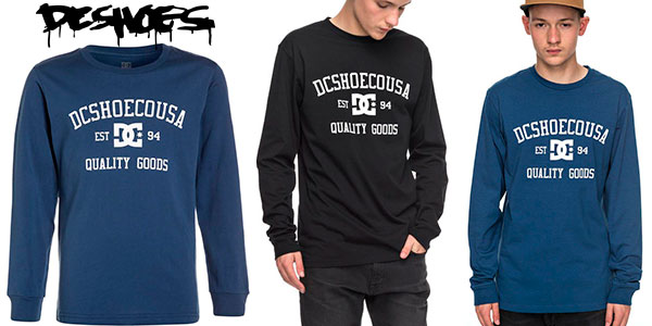 Chollo Camiseta de manga larga DC Shoes Headphase para hombre