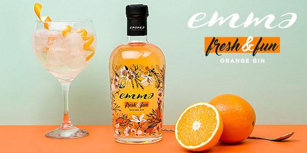Chollo Ginebra de naranja Emma Fresh & Fun de 700 ml