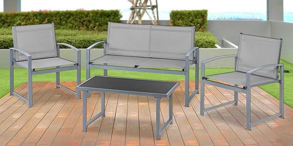 conjunto de muebles de exterior McHaus barato
