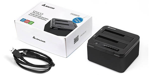 Docking Station Salcar USB 3.0 barato