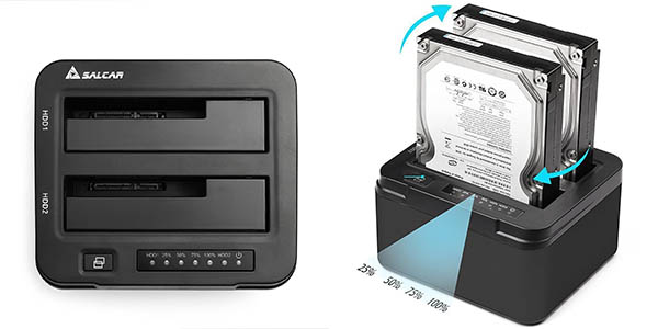Docking Station Salcar USB 3.0 en Amazon