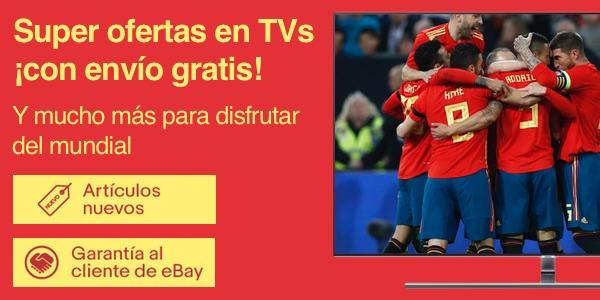 ofertas televisores mundial 2018