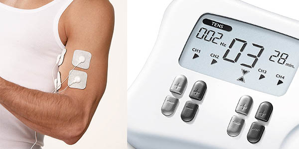 electroestimulador Beurer EM 80 con electrodos para masaje TENS y EMS en oferta