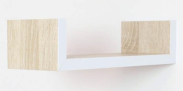 estanterías pequeñas de madera de diseño moderno chollo