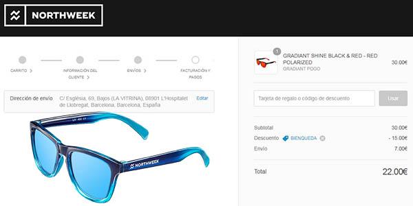gafas de sol Northweek con descuento por 5º aniversario a mitad de precio