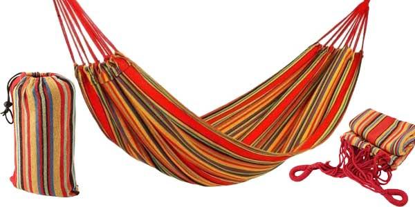 Hamacas dobles colgantes en varias medidas y colores con CUPÓN de DESCUENTO DCCX0510 oferta en Amazon