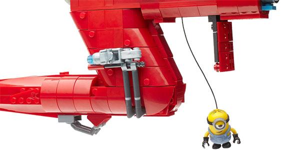 Juego de construcción Mega Blocks Minions Jet del Súper Malvado Mattel CNF60-9964 chollazo en Amazon
