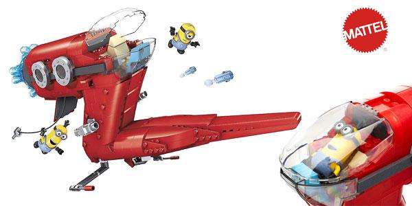 Juego de construcción Mega Blocks Minions Jet del Súper Malvado Mattel CNF60-9964 chollo en Amazon