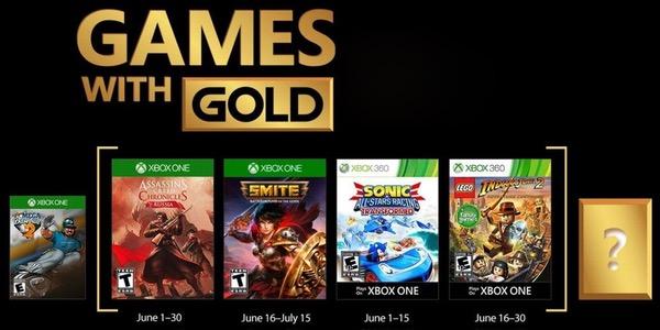 Juegos con Gold junio 2018