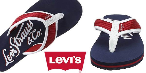 Levi's Dodge chanclas para hombre baratas