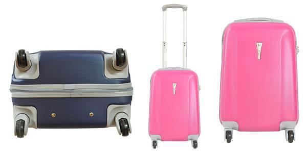 maleta ABS rígida y resistente con tirador telescópico chollo