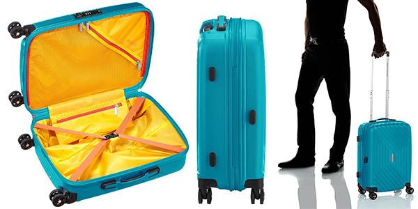 maleta de cabina American Tourister Air Force 1 Spinner 55/20 Serrure TSA calidad top chollo