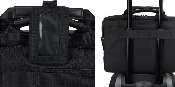 """Maletín para portátil Targus TSS865EU CityGear 11.6"""" en color negro chollo en Amazon"""