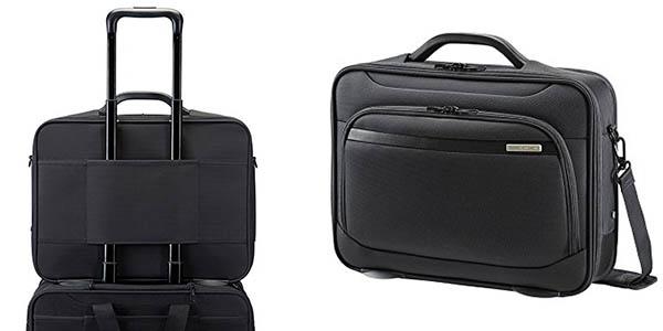 maletín de trabajo y viaje Samsonite Vectura Office Case Plus oferta