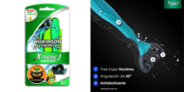 Maquinillas Wilkinson Sword Xtreme 3 baratas en Amazon