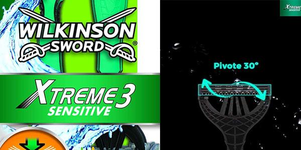 Maquinillas Wilkinson Sword Xtreme 3 en oferta en Amazon