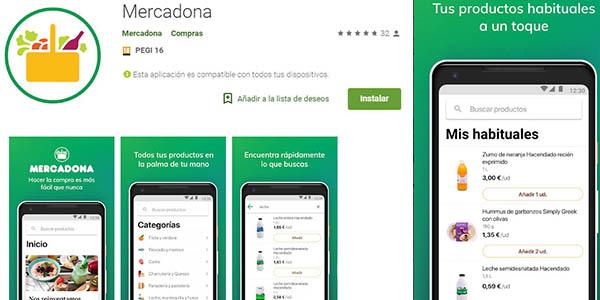Mercadona aplicación móvil nueva con proceso de compra más sencillo