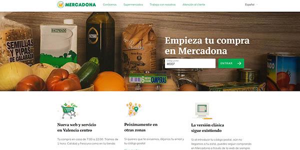Mercadona nueva tienda online