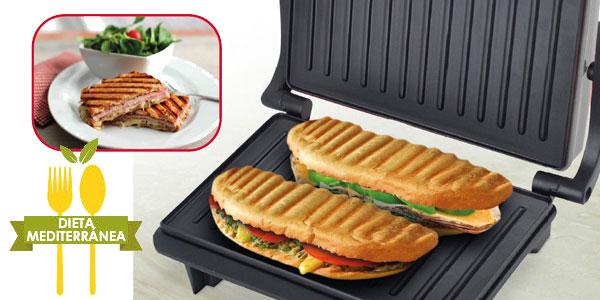 Mini Grill Eléctrico multifunción Panini Grill Keyton KY-9998 de 750 W antiadherente con control de temperatura chollo en eBay