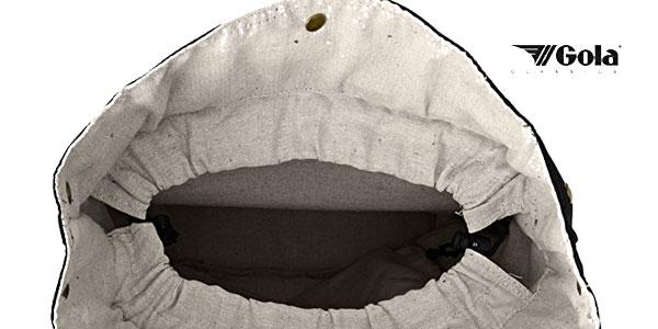 Mochila Gola Barlowe Loop en color negro chollo en Amazon