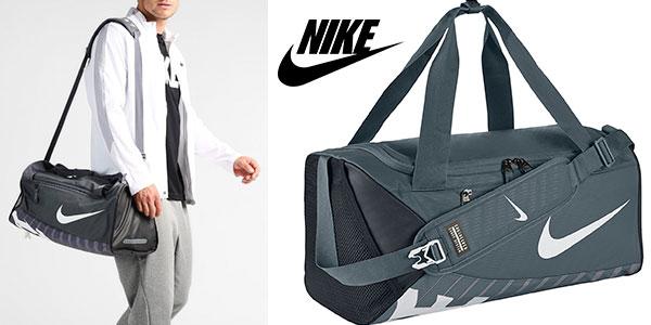 Mochila Nike Alpha Adapt Cross Body gris rebajada