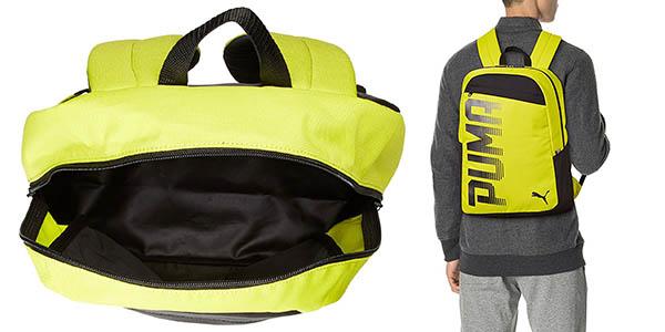 mochila Puma Pioneer con asas acolchadas resistente en oferta