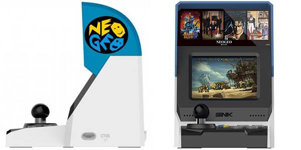 Diseño lateral de Neo Geo Mini