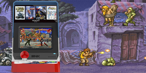 Neo Geo Mini con 40 juegos