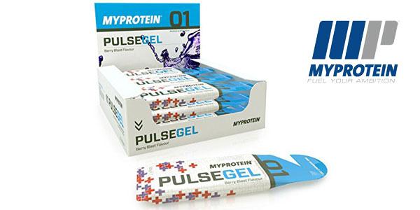 Pack 12 unidades de Gel Pre-Entrenamiento MyProtein Sabor Tormenta Tropical barato en Amazon
