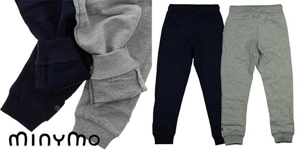 Pack de 2 pantalones de chandal infantiles Minymo chollo en Amazon