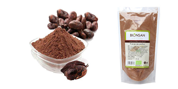 Pack de 6 Paquetes de cacao en polvo Bionsan de 250 gr chollo en Amazon