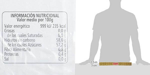 pack 64 unidades de 25 gramos de mermelada Helios de fresa barato