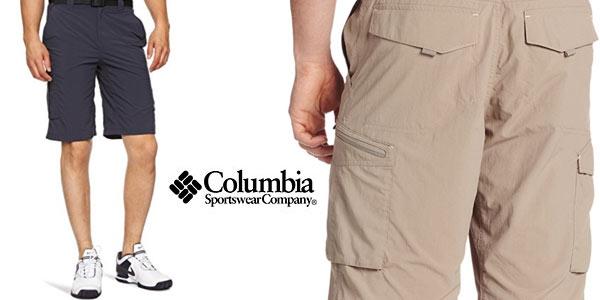 Pantalón corto Columbia Silver Ridge Cargo Shorts barato en Amazon