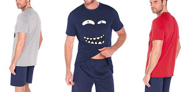pijama corto de diseño origianl con genial relación calidad-precio