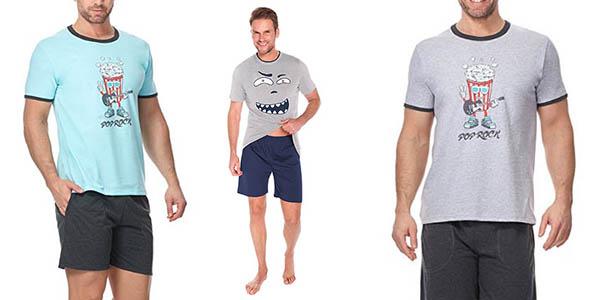 pijama para hombre con tejido confortable chollo